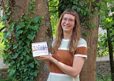 UTOPiA-Tischkalender Gendersensible Sprache Alica Mielke